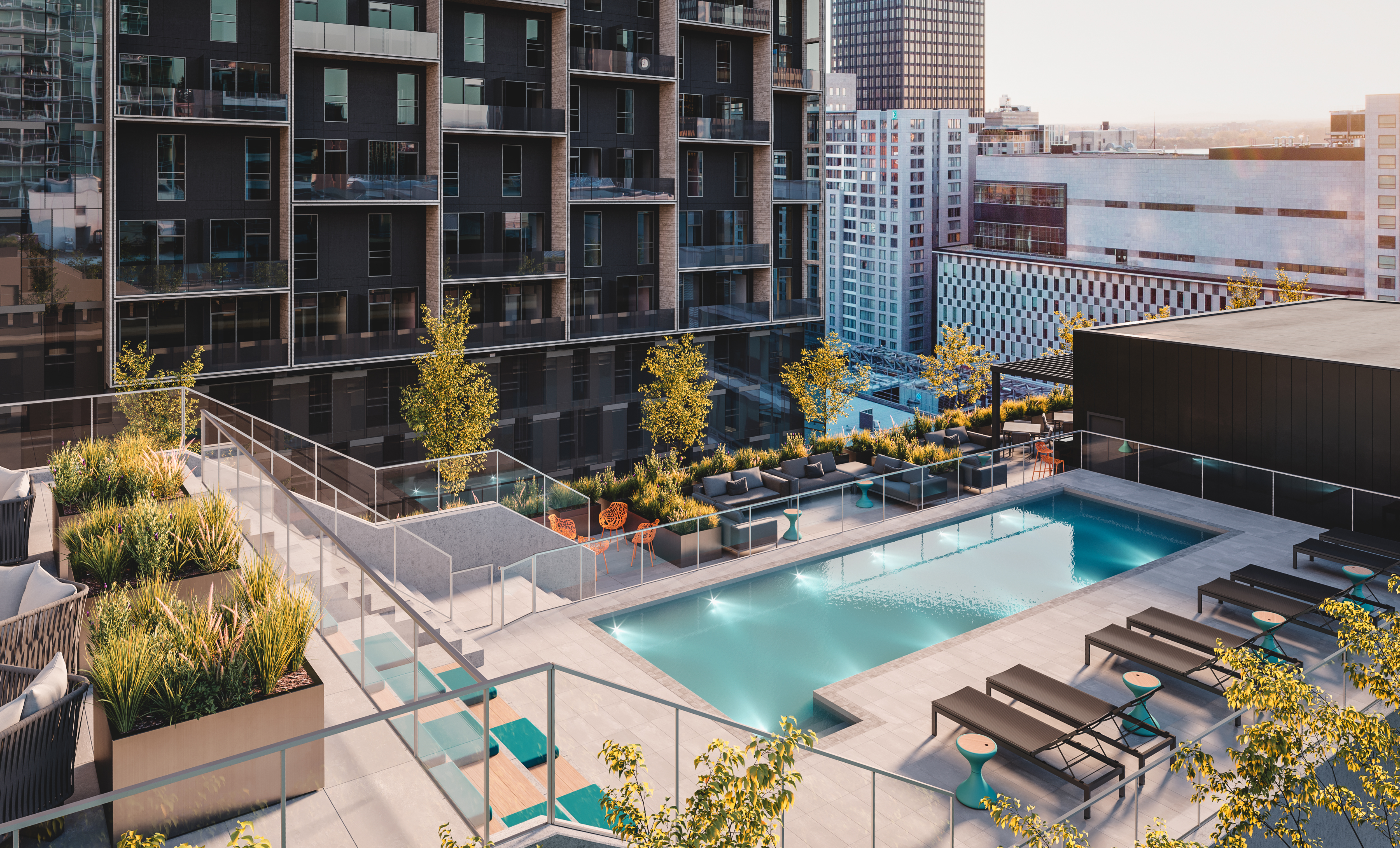 Rooftop Hotel Humaniti Montreal