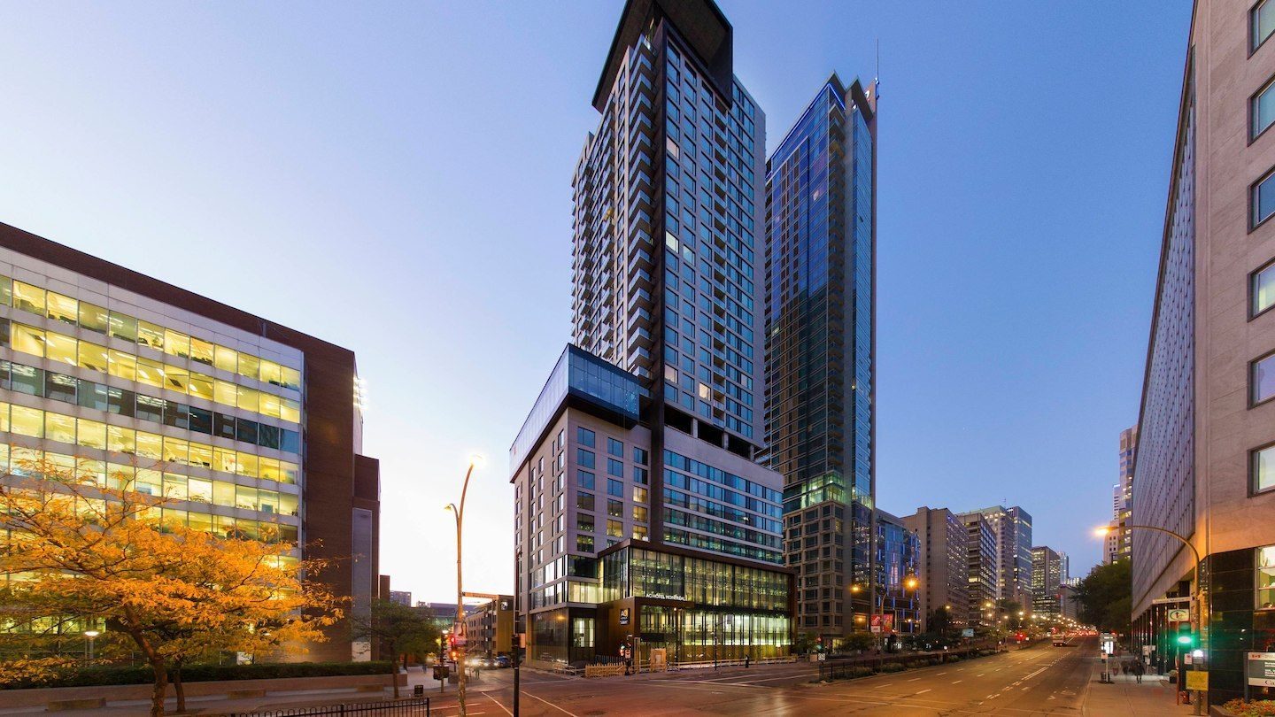 Ac Marriott Montreal Centre Ville  2357